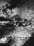 la caverne perdue de mer photo libre de droits