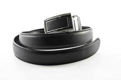 La ceinture en cuir des hommes Image libre de droits