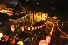 La celebración china del Año Nuevo en la Kolkata-India Imagen de archivo libre de regalías