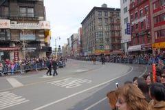 La celebración china del Año Nuevo 2014 en NYC 88 Foto de archivo
