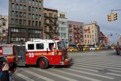 La celebración china del Año Nuevo 2014 en NYC 80 Foto de archivo