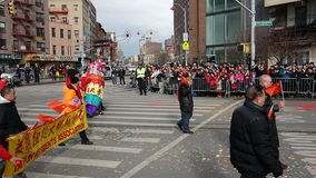 La celebración china del Año Nuevo 2014 en NYC 14 Fotografía de archivo libre de regalías