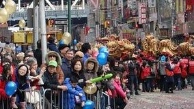 La celebración china del Año Nuevo 2014 en NYC 19 Fotografía de archivo