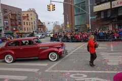 La celebración china del Año Nuevo 2014 en NYC 36 Imagen de archivo libre de regalías