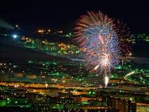 La celebración del Año Nuevo Imágenes de archivo libres de regalías