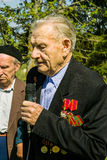 La celebración del día de victoria en la guerra 1941-1945 en la región de Kaluga de Rusia Fotografía de archivo libre de regalías