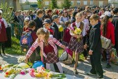 La celebración del día de victoria en la guerra 1941-1945 en la región de Kaluga de Rusia Imagenes de archivo