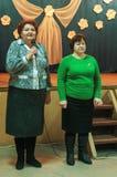 La celebración del día del ` s de la madre en la región de Kaluga de Rusia en 2016 Fotos de archivo