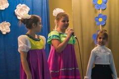 La celebración del día del ` s de la madre en la región de Kaluga de Rusia en 2016 Foto de archivo libre de regalías