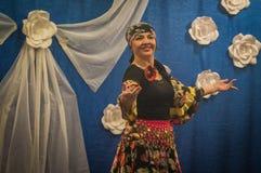 La celebración del día del ` s de la madre en la región de Kaluga de Rusia en 2016 Fotografía de archivo libre de regalías