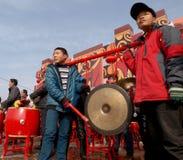 La celebración lunar del Año Nuevo en 2013 Foto de archivo libre de regalías