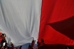 La celebrazione della festa dell'indipendenza dell'Indonesia Immagine Stock Libera da Diritti