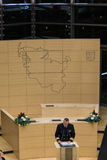 La celebrazione dello Schlesvig-Holstein Landtag Immagini Stock Libere da Diritti