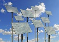 la cellule lambrisse solaire Image libre de droits
