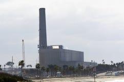 La central eléctrica vieja de Encina del norte Imagenes de archivo