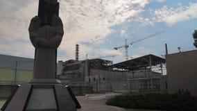 La central nuclear de Chernobyl metrajes