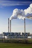 La centrale électrique Pocerady photographie stock libre de droits