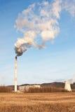 La centrale électrique Prunerov photo libre de droits
