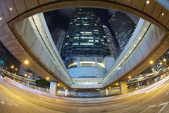 La centrale di Connaught Rd alla HK 2016 Fotografia Stock
