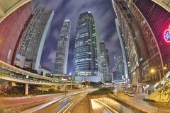La centrale di Connaught Rd alla HK 2016 Fotografia Stock Libera da Diritti