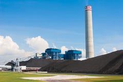 La centrale elettrica elettrica del generatore Immagini Stock Libere da Diritti