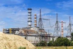 La centrale nucleare del Chernobyl fotografia stock libera da diritti