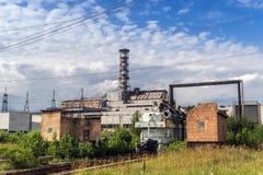 La centrale nucleare del Chernobyl fotografie stock