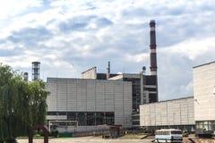 La centrale nucleare del Chernobyl fotografia stock