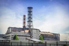 La centrale nucleare del Chernobyl immagini stock libere da diritti