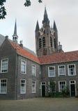 La cerámica de Delft, el edificio, naranja del oif de Guillermo fue matada Fotografía de archivo libre de regalías