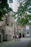 La cerámica de Delft, el edificio, naranja del oif de Guillermo fue matada Fotografía de archivo