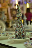 La ceramica che sono prodotti dell'artigianato attira l'attenzione Immagini Stock Libere da Diritti