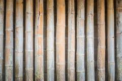 La cerca de bambú Foto de archivo libre de regalías