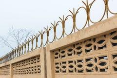 La cerca o del hierro Fotografía de archivo