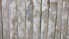 La cerca obsoleta de los bambúes Foto de archivo libre de regalías
