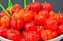 La cereza española madura Fotos de archivo