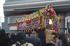 La cerimonia di dolore globale di Ashura Kerbala martirizza Commemor Immagine Stock
