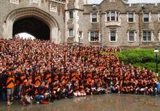 La cerimonia di graduazione del Princeton Immagini Stock
