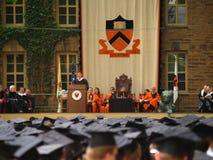 La cerimonia di graduazione del Princeton Fotografia Stock Libera da Diritti