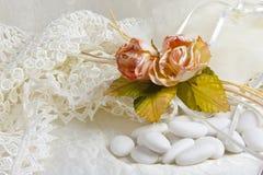 La cerimonia nuziale favorisce _006 fotografia stock
