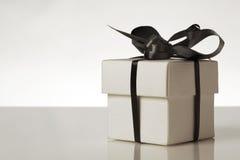 La cerimonia nuziale favorisce i contenitori di regalo Fotografia Stock