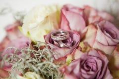 La cerimonia nuziale fiorisce il primo piano Fotografie Stock