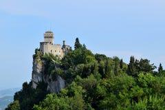 La Cesta/Fratta (segunda torre), San Marino, Italia Fotografía de archivo