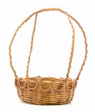 La cesta hecha del papel usado Fotografía de archivo libre de regalías