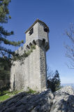 La Cesta tower of Mount Titan Stock Photo