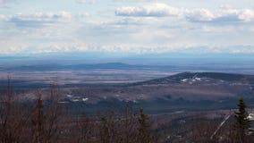 La chaîne d'Alaska Photos libres de droits