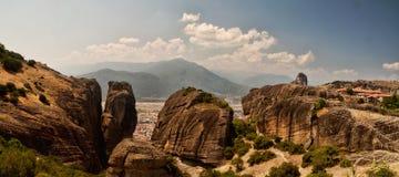 La chaîne de Meteora Photos stock