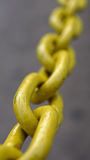 La chaîne jaune Image libre de droits