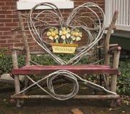 La chaise bienvenue à St Charles images libres de droits