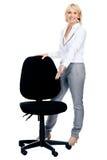 La chaise parfaite d'affaires Images stock